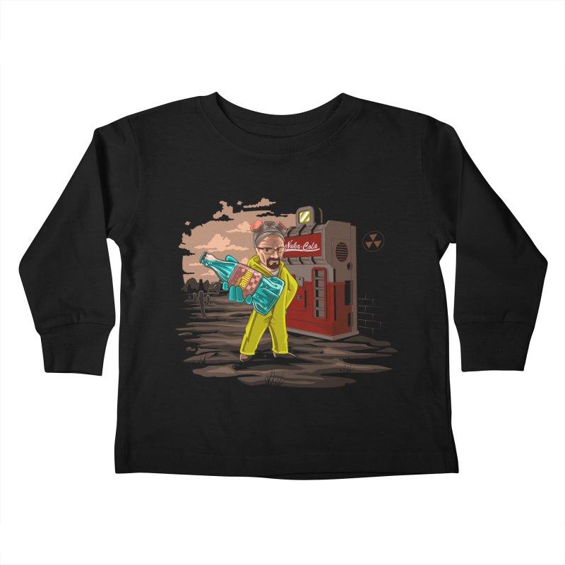Nuka-Cola Quantum Kids Toddler Longsleeve T-Shirt by Arashi-Yuka