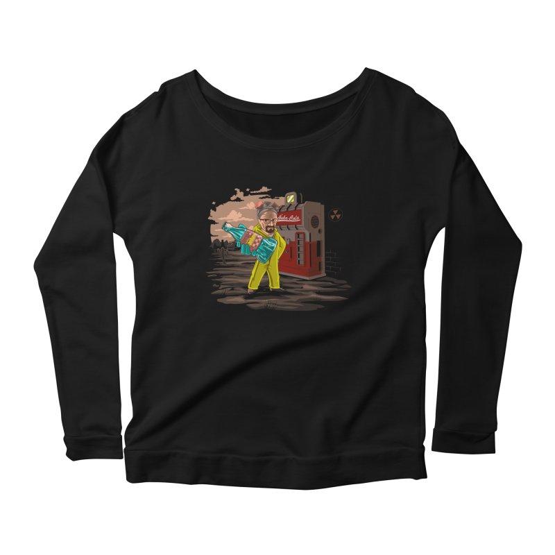 Nuka-Cola Quantum Women's Scoop Neck Longsleeve T-Shirt by Arashi-Yuka