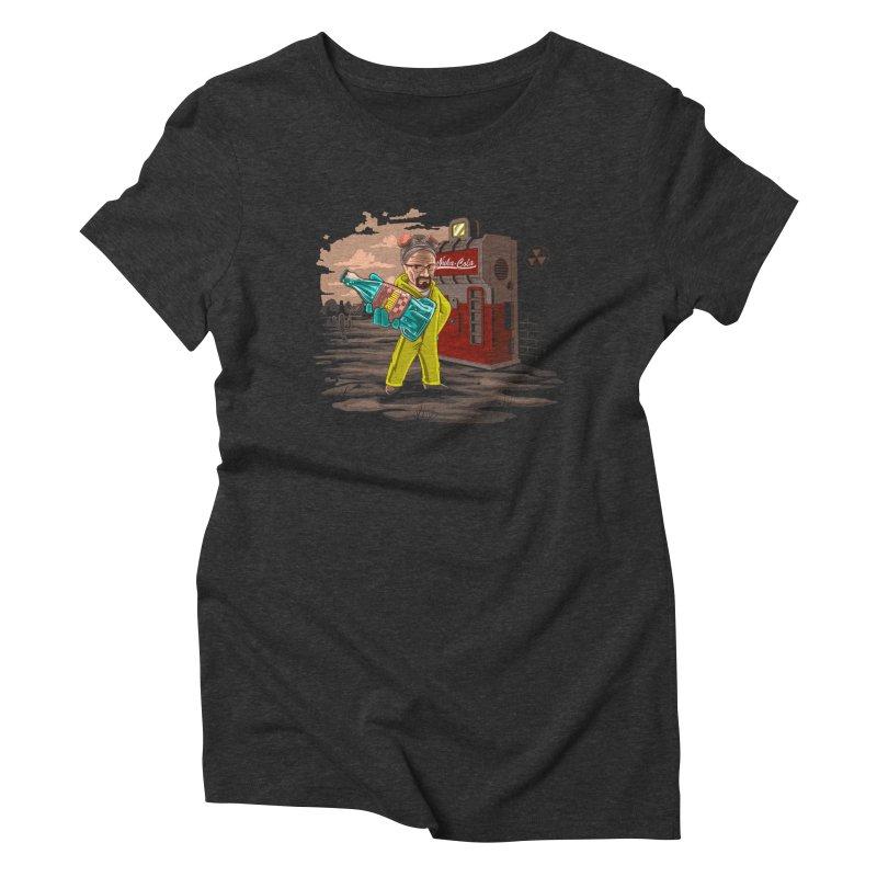Nuka-Cola Quantum Women's Triblend T-Shirt by Arashi-Yuka