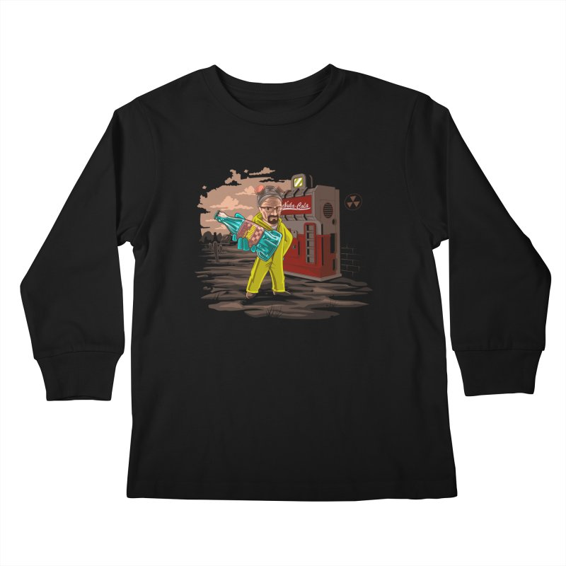 Nuka-Cola Quantum Kids Longsleeve T-Shirt by Arashi-Yuka
