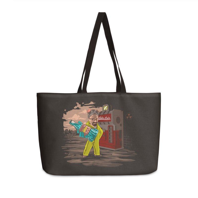 Nuka-Cola Quantum Accessories Weekender Bag Bag by Arashi-Yuka