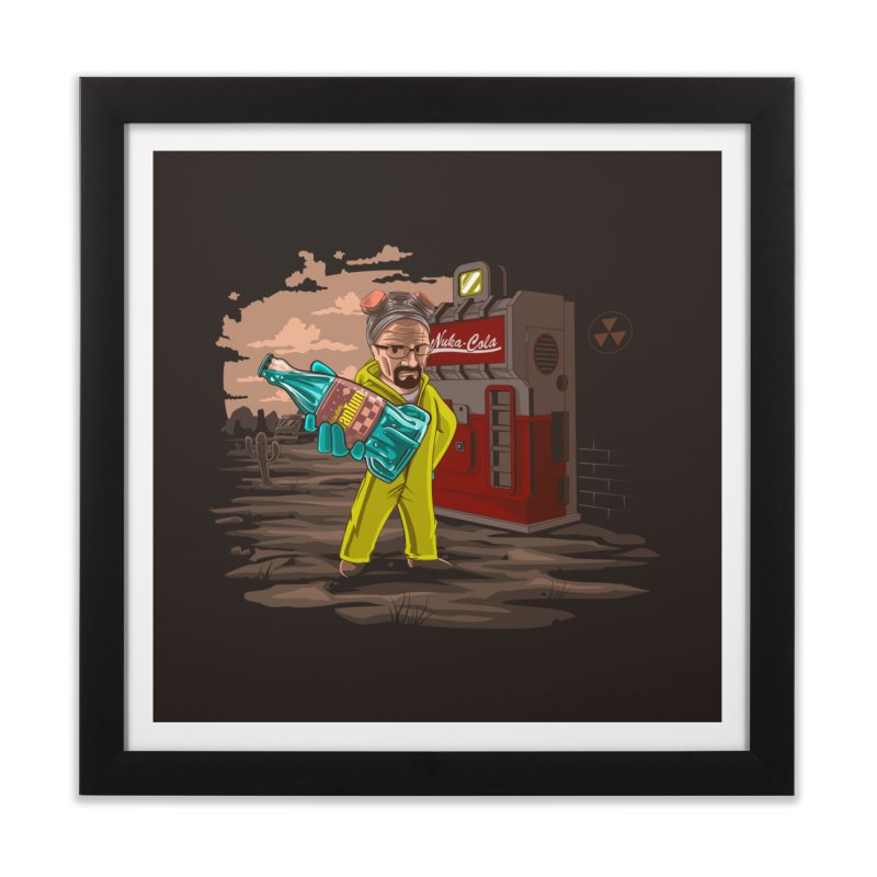 Nuka-Cola Quantum Home Framed Fine Art Print by Arashi-Yuka