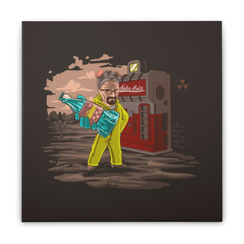 Nuka-Cola Quantum Home Stretched Canvas by Arashi-Yuka