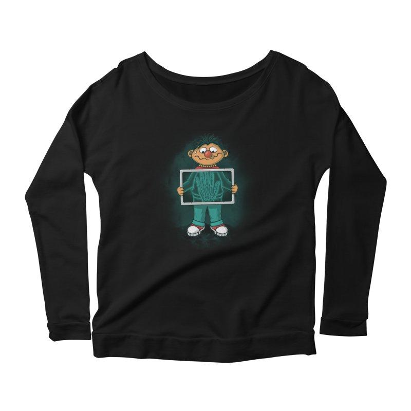 High Five! Women's Scoop Neck Longsleeve T-Shirt by Arashi-Yuka