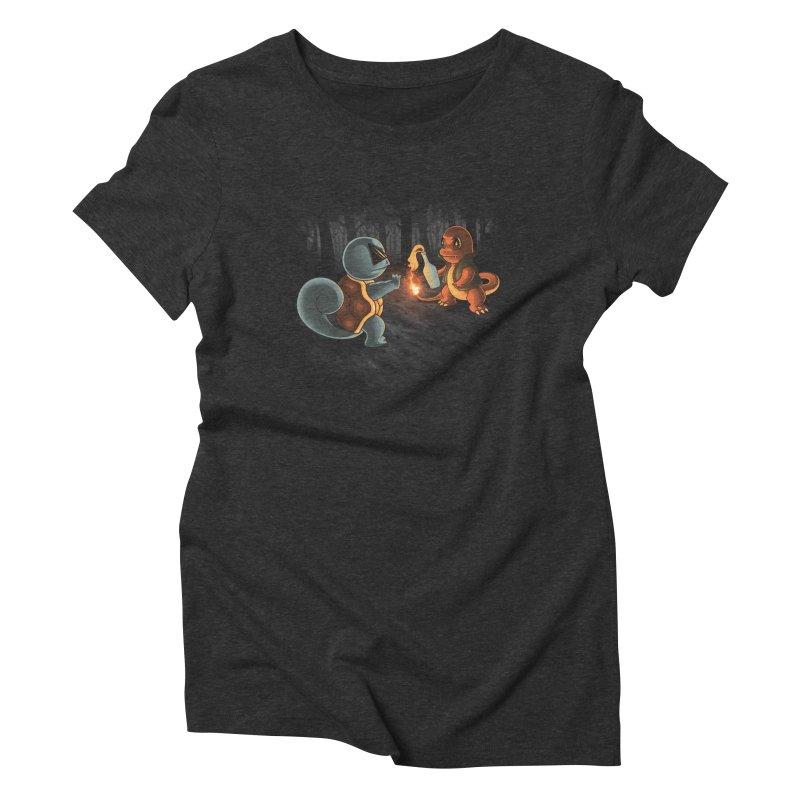 Forest Ranger Women's Triblend T-Shirt by Arashi-Yuka
