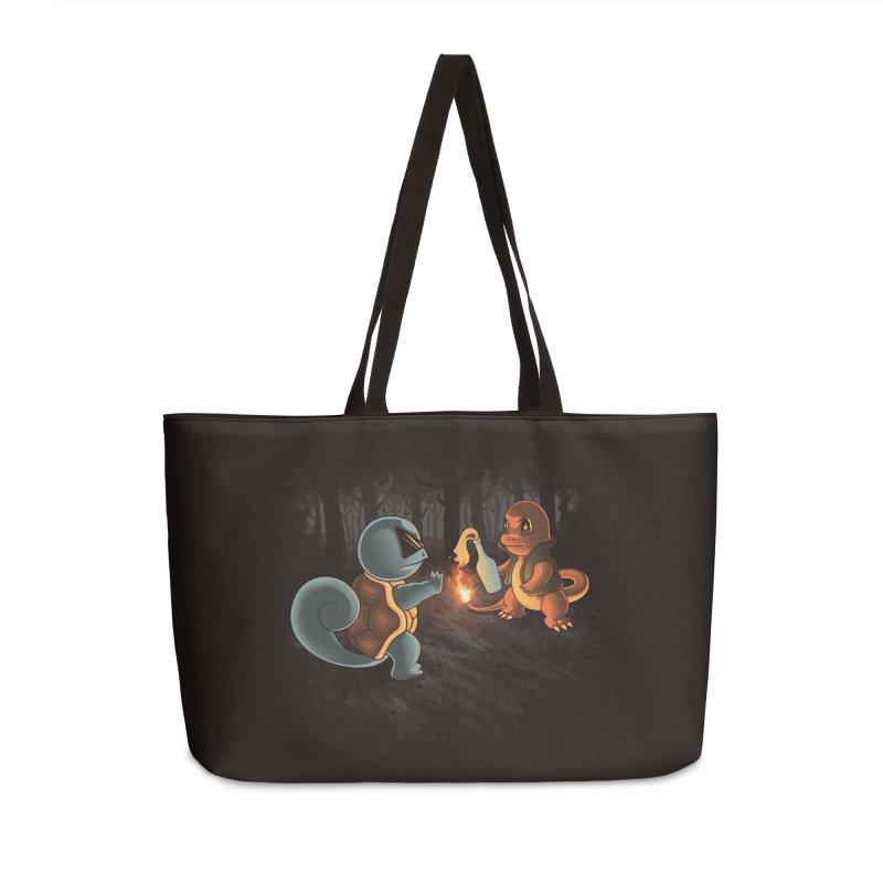 Forest Ranger Accessories Weekender Bag Bag by Arashi-Yuka