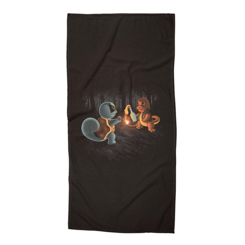 Forest Ranger Accessories Beach Towel by Arashi-Yuka