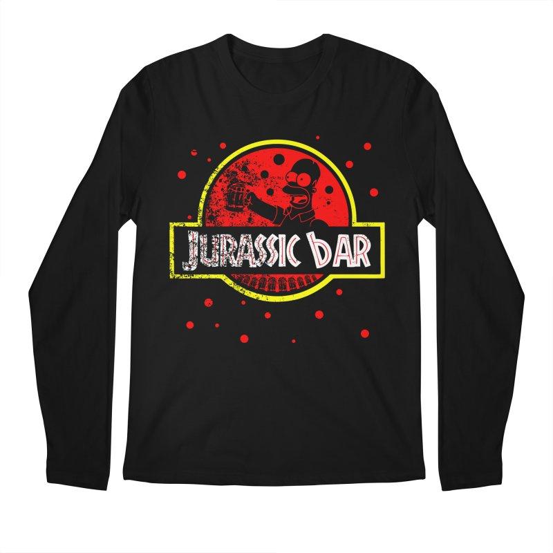 Jurassic Bar Men's Regular Longsleeve T-Shirt by Arashi-Yuka