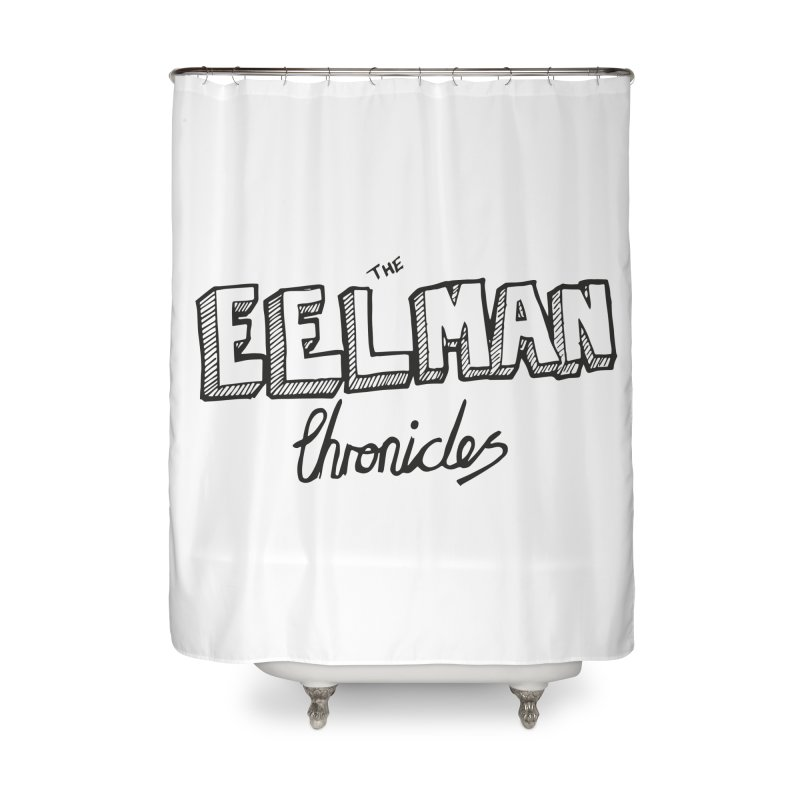 Eelman Chronicles Logo Home Shower Curtain by EelmanChronicles's Artist Shop