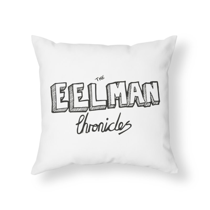 Eelman Chronicles Logo Home Throw Pillow by EelmanChronicles's Artist Shop