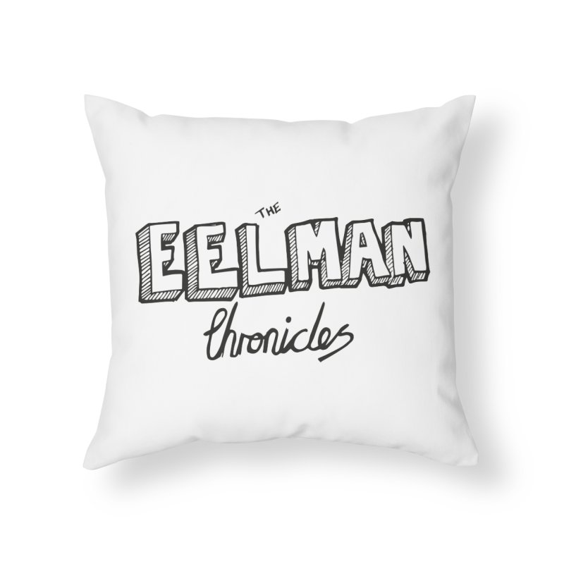 Eelman Chronicles Logo Home Throw Pillow by EelmanChronicles's Artist Shop