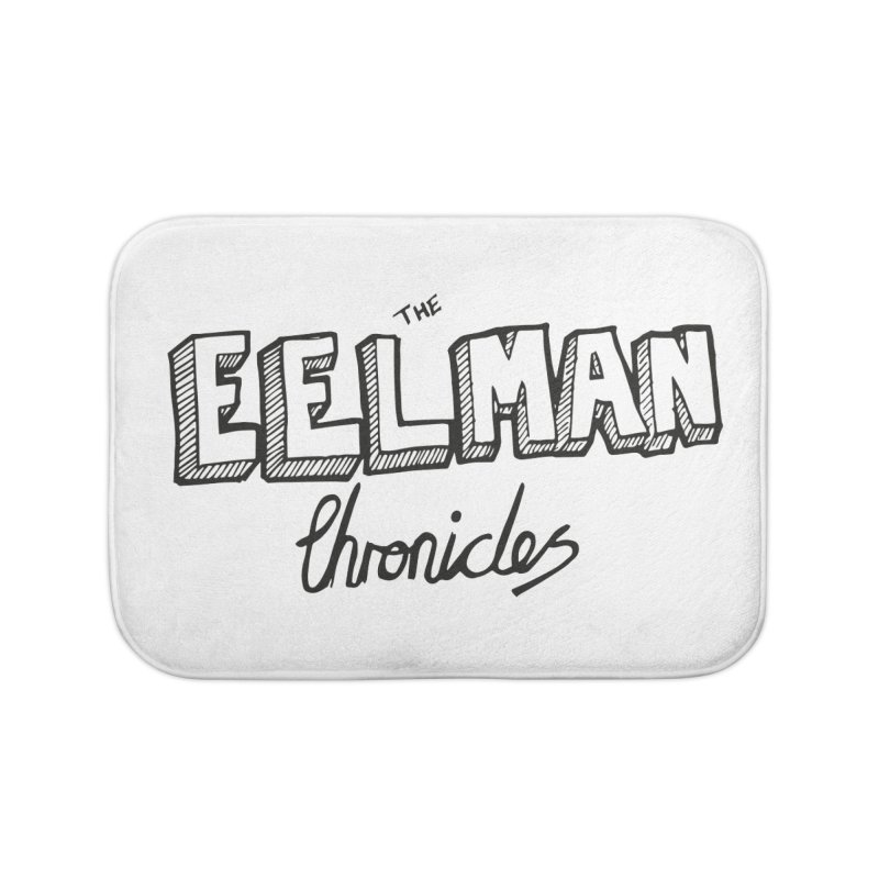 Eelman Chronicles Logo Home Bath Mat by EelmanChronicles's Artist Shop