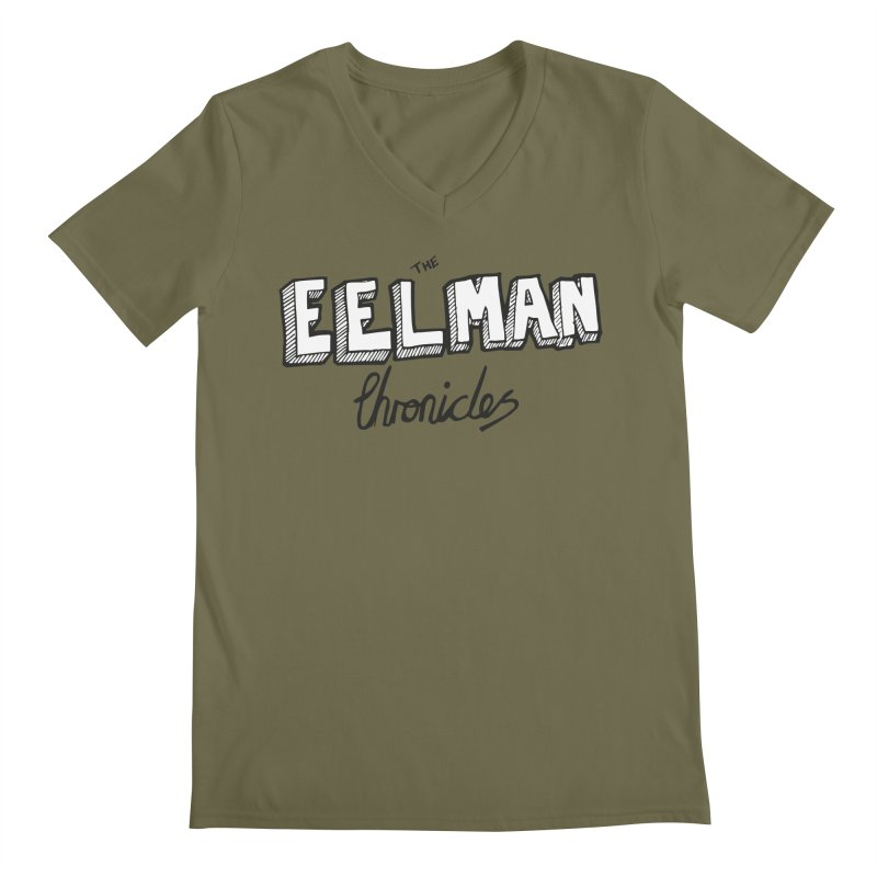 Eelman Chronicles Logo Men's Regular V-Neck by EelmanChronicles's Artist Shop