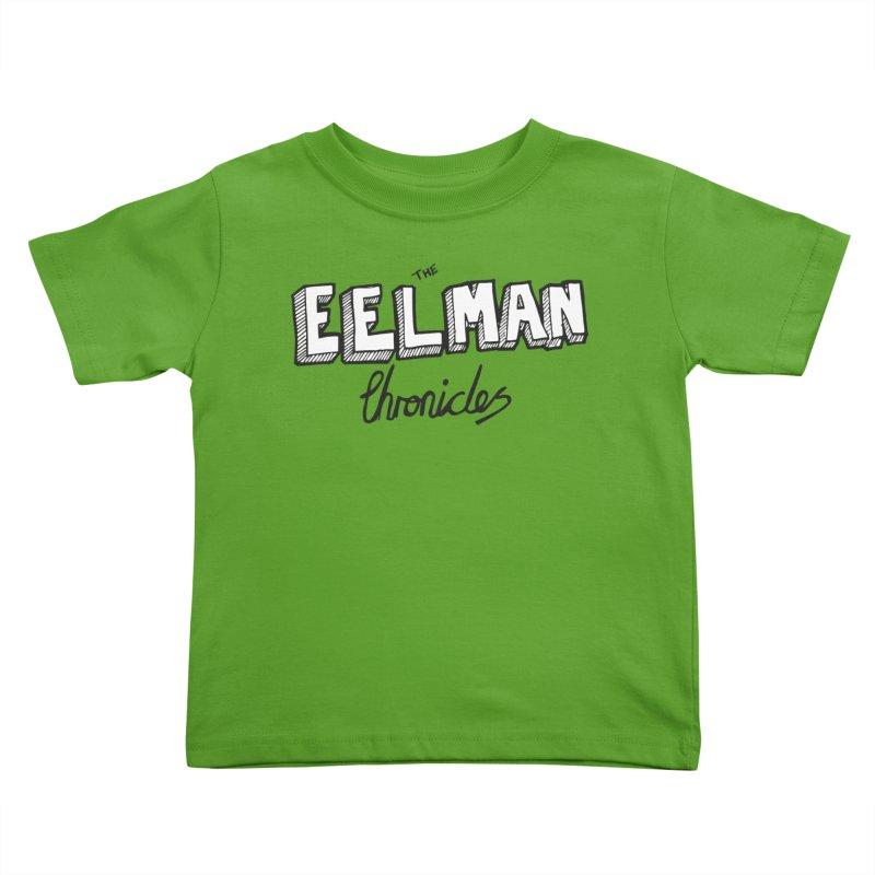 Eelman Chronicles Logo Kids Toddler T-Shirt by EelmanChronicles's Artist Shop