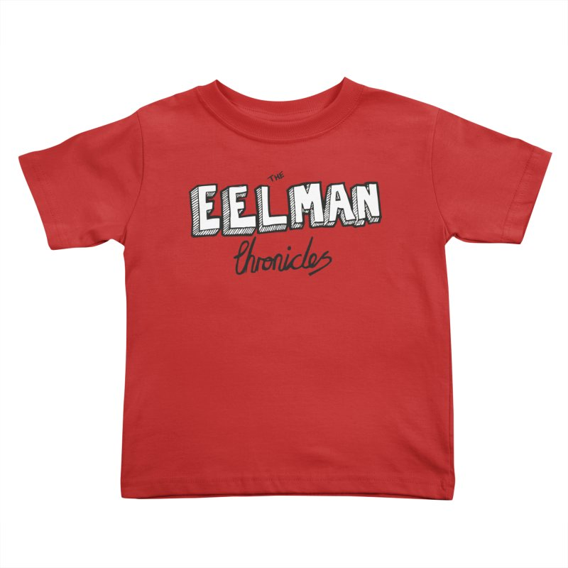 Eelman Chronicles Logo Kids Toddler T-Shirt by EelmanChronicles's Artist Shop