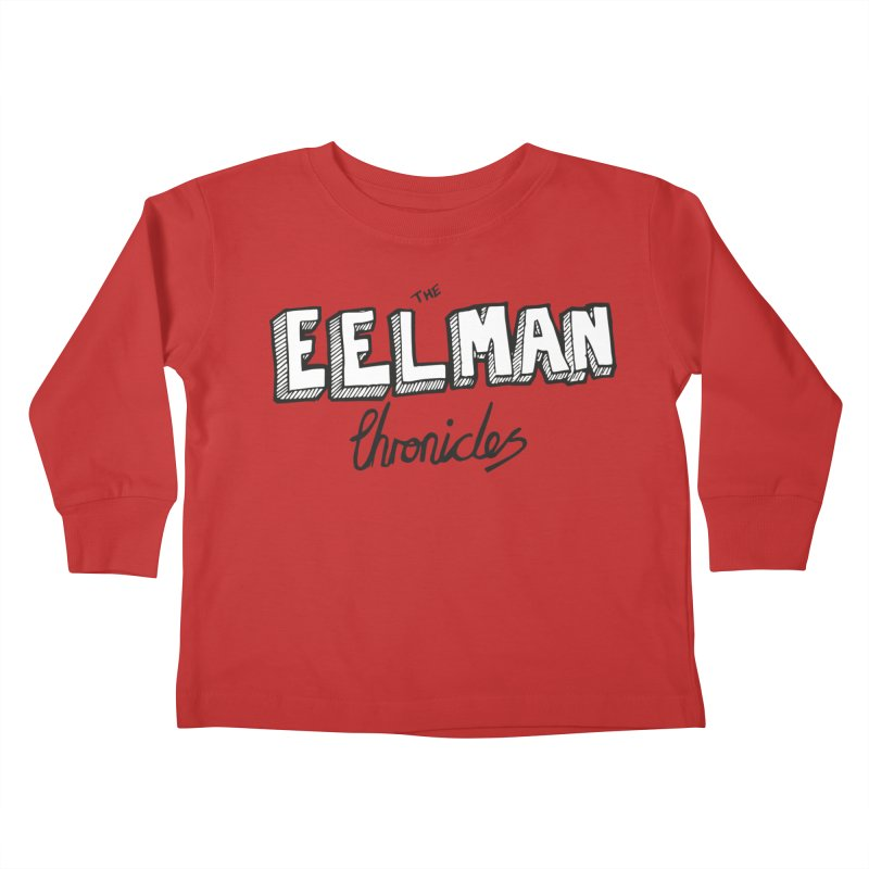 Eelman Chronicles Logo Kids Toddler Longsleeve T-Shirt by EelmanChronicles's Artist Shop