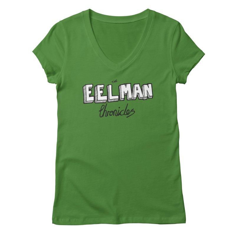 Eelman Chronicles Logo Women's Regular V-Neck by EelmanChronicles's Artist Shop