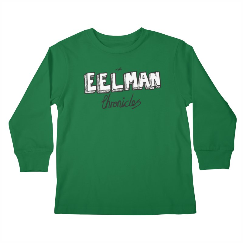 Eelman Chronicles Logo Kids Longsleeve T-Shirt by EelmanChronicles's Artist Shop