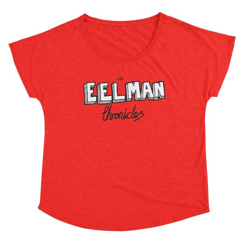 Eelman Chronicles Logo Women's Scoop Neck by EelmanChronicles's Artist Shop