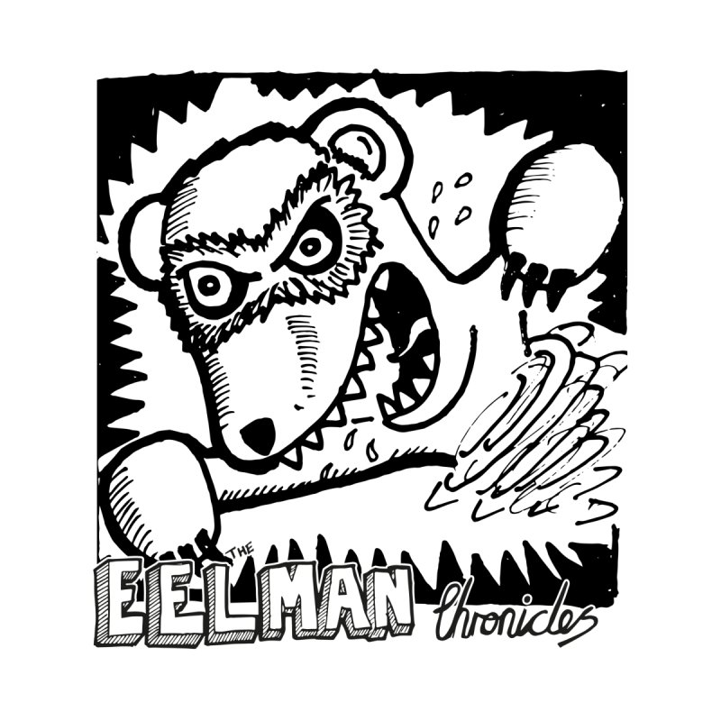 Eelman Chronicles - Rabid Ferret Women's Pullover Hoody by EelmanChronicles's Artist Shop