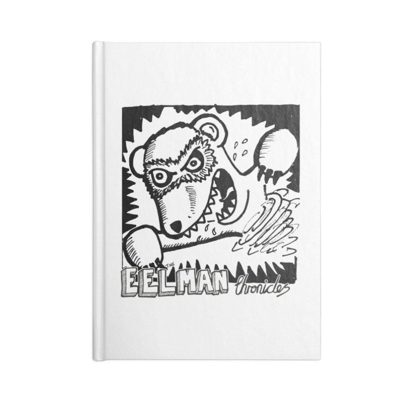 Eelman Chronicles - Rabid Ferret Accessories Lined Journal Notebook by EelmanChronicles's Artist Shop