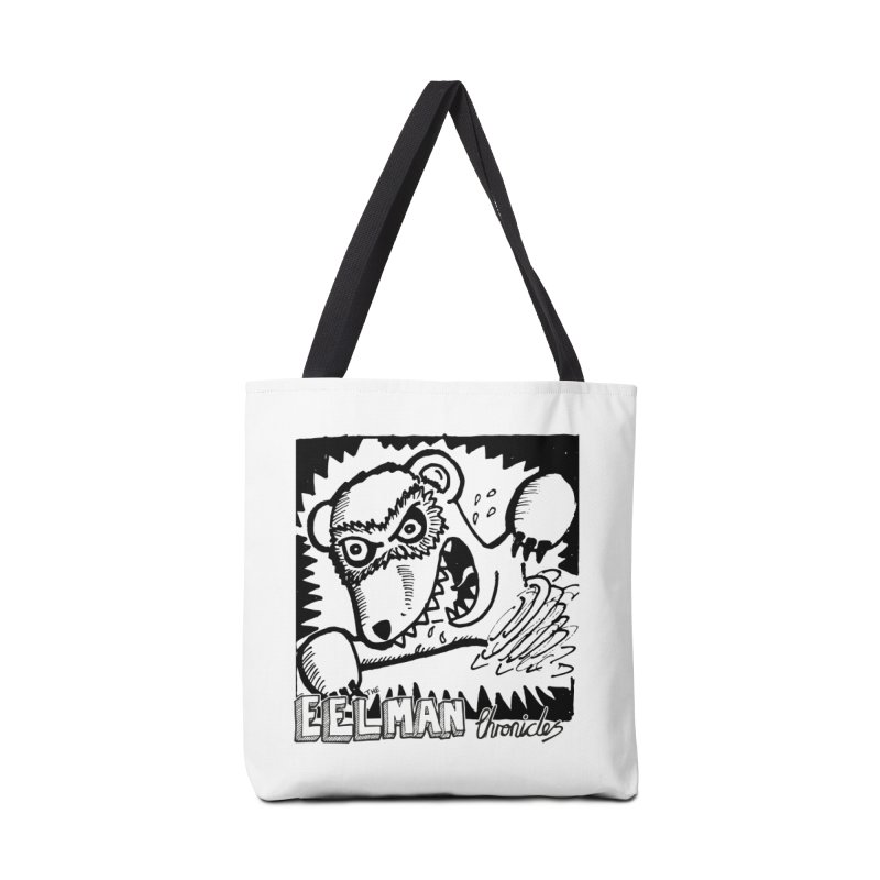 Eelman Chronicles - Rabid Ferret Accessories Bag by EelmanChronicles's Artist Shop