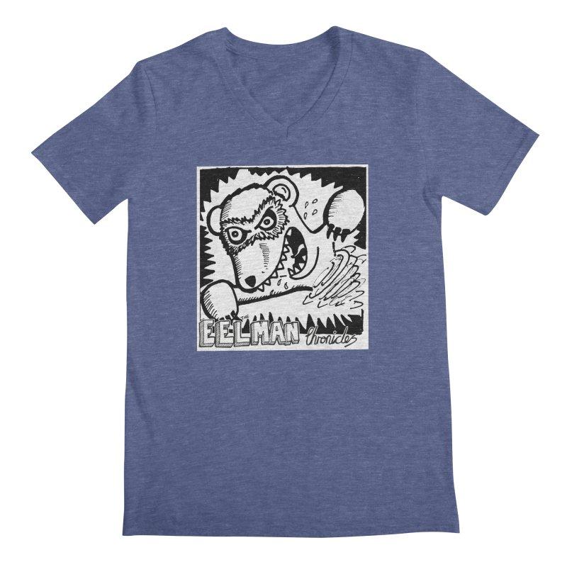 Eelman Chronicles - Rabid Ferret Men's V-Neck by EelmanChronicles's Artist Shop