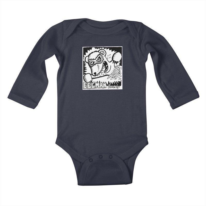 Eelman Chronicles - Rabid Ferret Kids Baby Longsleeve Bodysuit by EelmanChronicles's Artist Shop