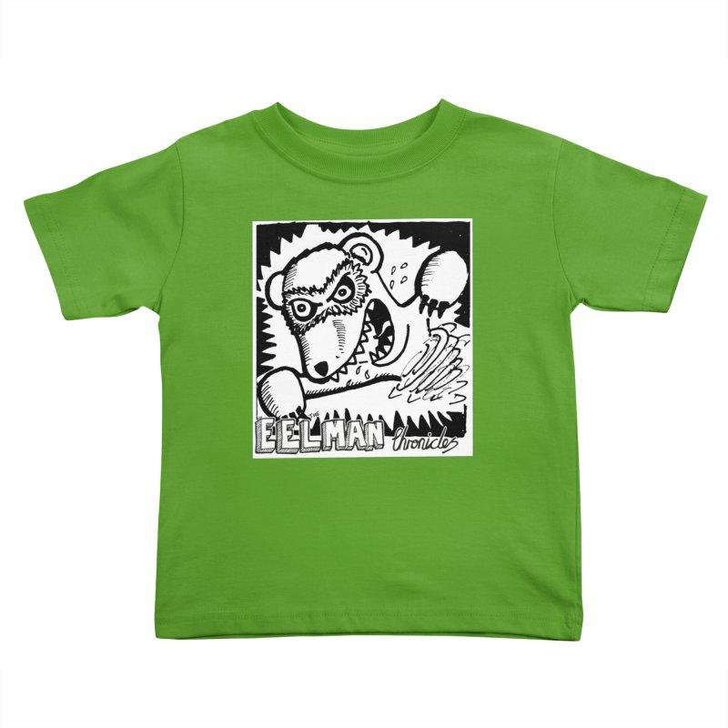Eelman Chronicles - Rabid Ferret Kids Toddler T-Shirt by EelmanChronicles's Artist Shop