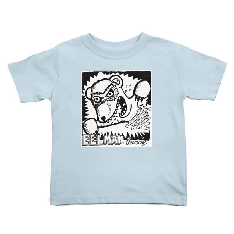 Eelman Chronicles - Rabid Ferret Kids Toddler T-Shirt by EelmanChronicles's Artist Shop