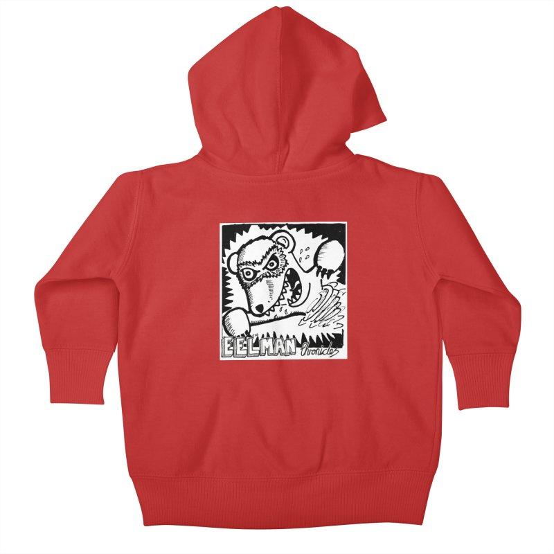 Eelman Chronicles - Rabid Ferret Kids Baby Zip-Up Hoody by EelmanChronicles's Artist Shop
