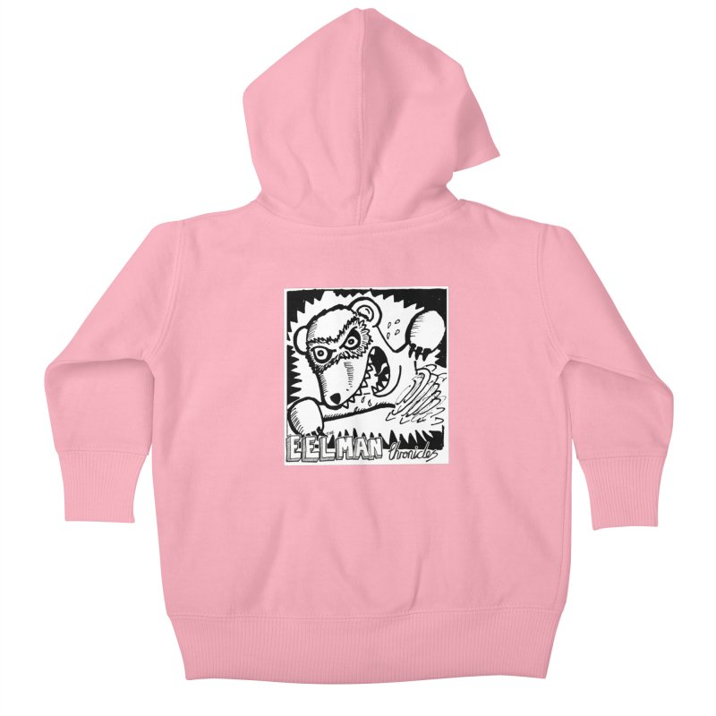 Eelman Chronicles - Rabid Ferret Kids Baby Zip-Up Hoody by EelmanChronicles's Artist Shop