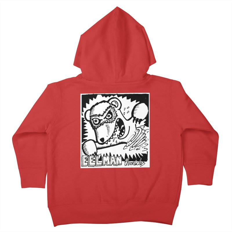 Eelman Chronicles - Rabid Ferret Kids Toddler Zip-Up Hoody by EelmanChronicles's Artist Shop