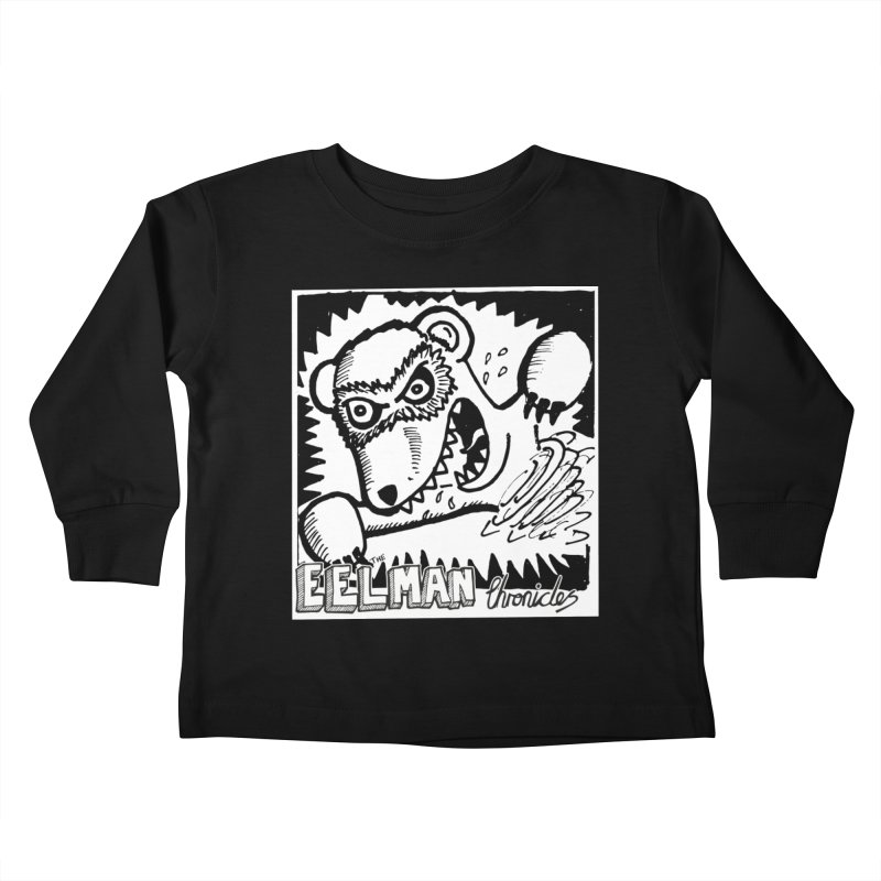 Eelman Chronicles - Rabid Ferret Kids Toddler Longsleeve T-Shirt by EelmanChronicles's Artist Shop
