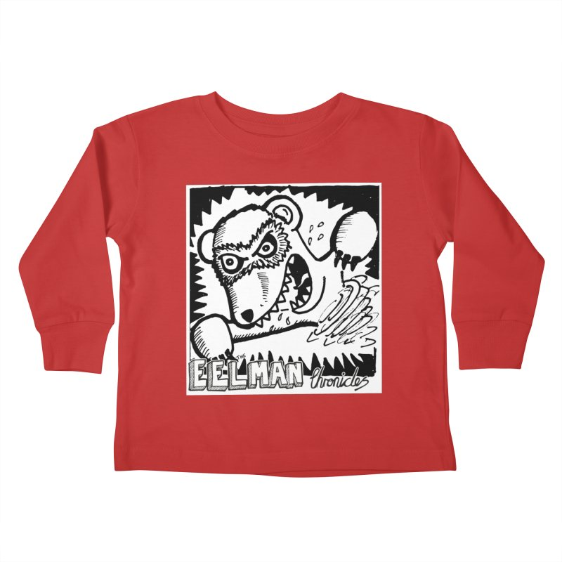 Eelman Chronicles - Rabid Ferret Kids Toddler Longsleeve T-Shirt by EelmanChronicles's Artist Shop