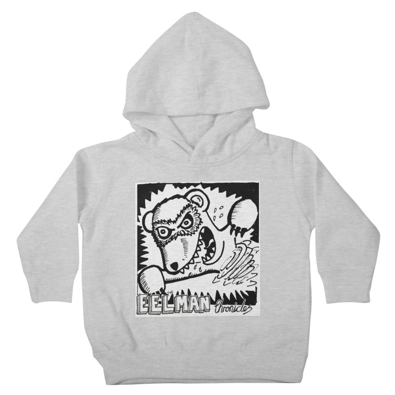 Eelman Chronicles - Rabid Ferret Kids Toddler Pullover Hoody by EelmanChronicles's Artist Shop
