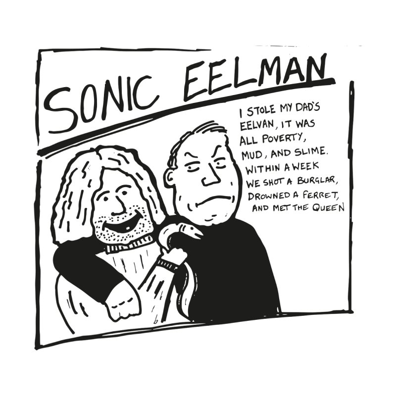 Eelman Chronicles - Sonic Eelman Men's T-Shirt by EelmanChronicles's Artist Shop