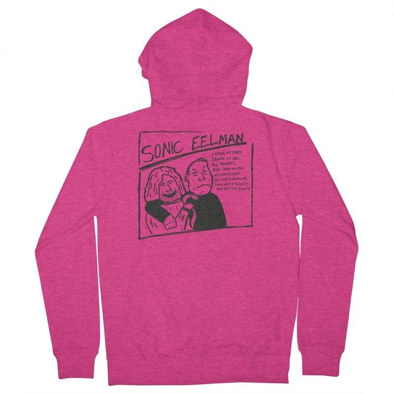 Eelman Chronicles - Sonic Eelman Women's Zip-Up Hoody by EelmanChronicles's Artist Shop