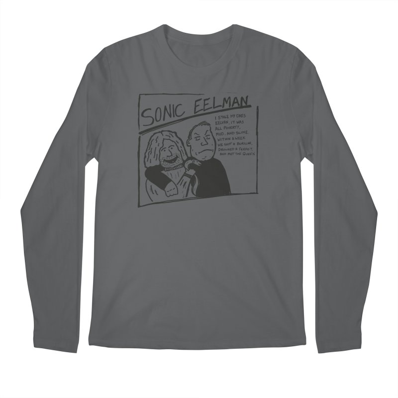 Eelman Chronicles - Sonic Eelman Men's Longsleeve T-Shirt by EelmanChronicles's Artist Shop