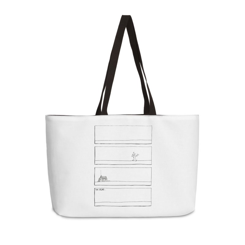 Eelman Chronicles - The Fens Accessories Weekender Bag Bag by EelmanChronicles's Artist Shop