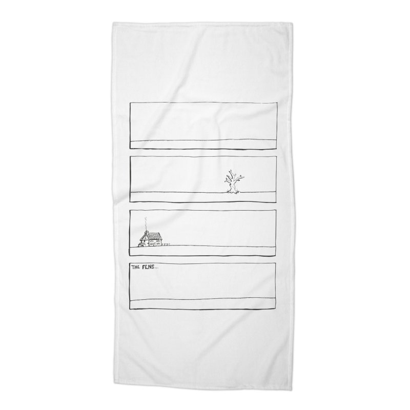 Eelman Chronicles - The Fens Accessories Beach Towel by EelmanChronicles's Artist Shop