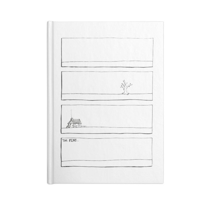 Eelman Chronicles - The Fens Accessories Lined Journal Notebook by EelmanChronicles's Artist Shop