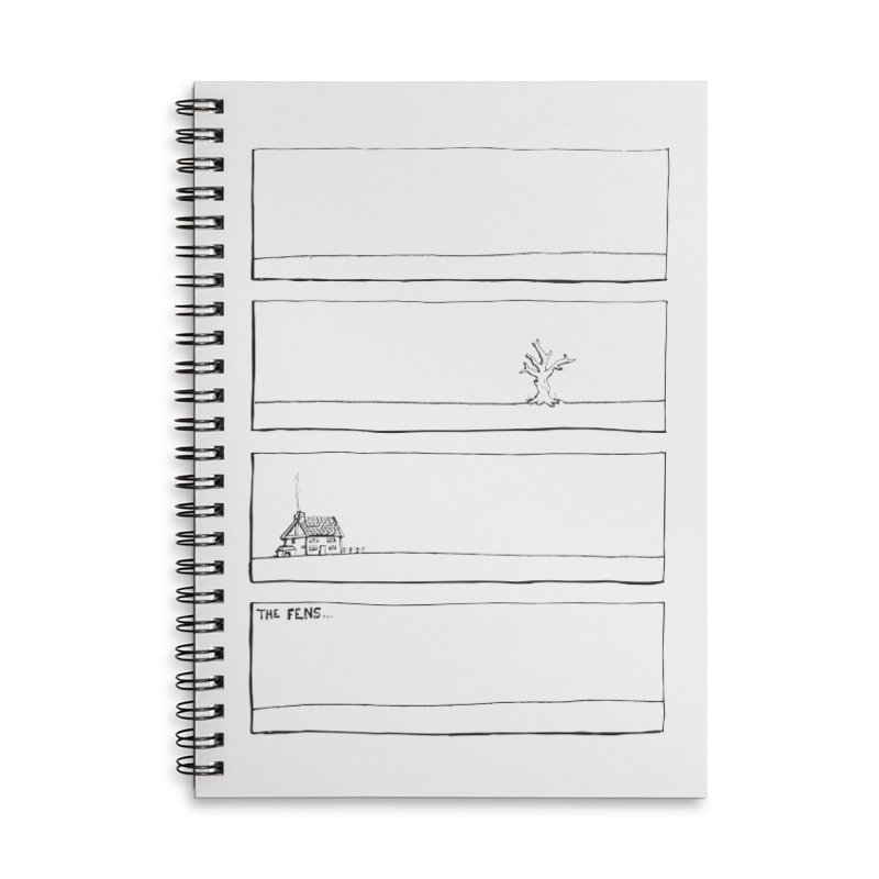 Eelman Chronicles - The Fens Accessories Notebook by EelmanChronicles's Artist Shop
