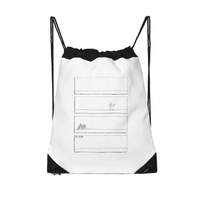 Eelman Chronicles - The Fens Accessories Drawstring Bag Bag by EelmanChronicles's Artist Shop