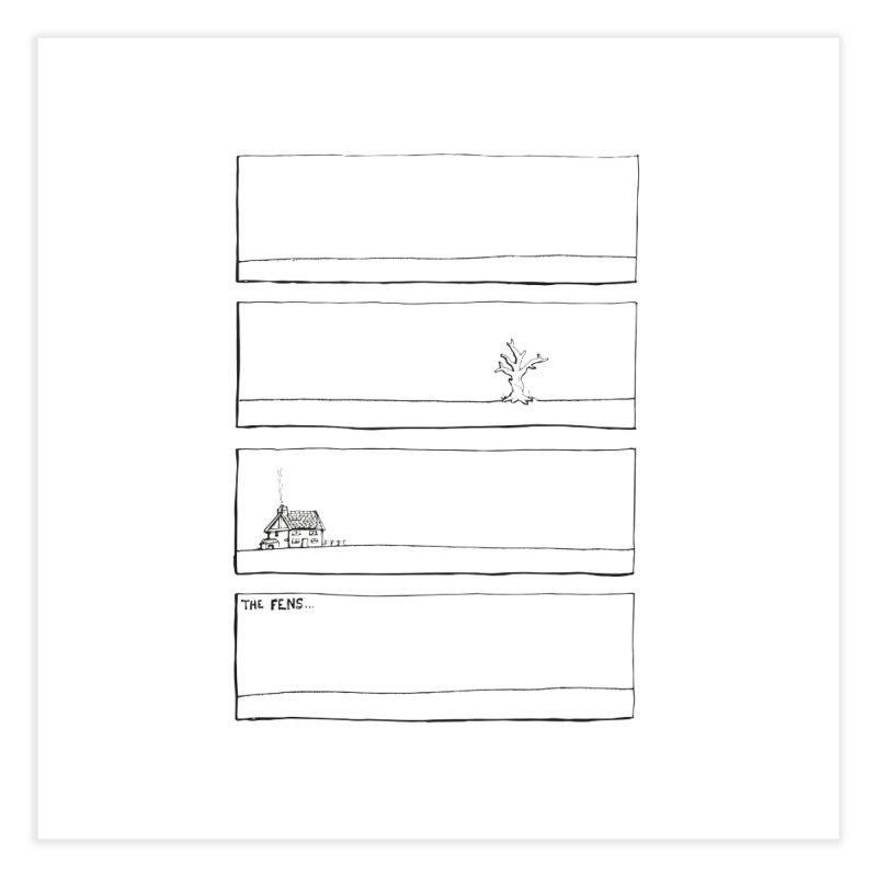Eelman Chronicles - The Fens Home Fine Art Print by EelmanChronicles's Artist Shop