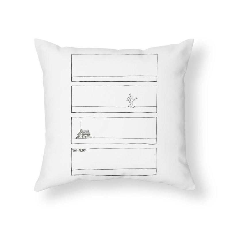 Eelman Chronicles - The Fens Home Throw Pillow by EelmanChronicles's Artist Shop