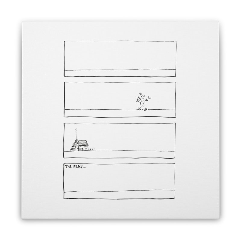 Eelman Chronicles - The Fens Home Stretched Canvas by EelmanChronicles's Artist Shop