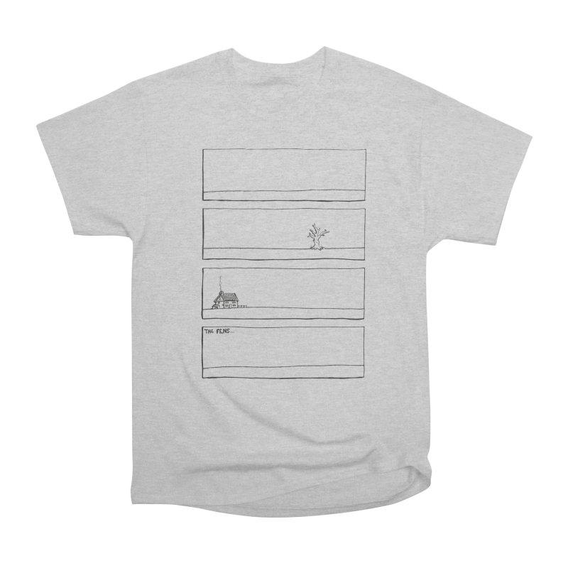 Eelman Chronicles - The Fens Women's Heavyweight Unisex T-Shirt by EelmanChronicles's Artist Shop