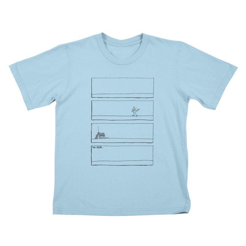 Eelman Chronicles - The Fens Kids T-Shirt by EelmanChronicles's Artist Shop