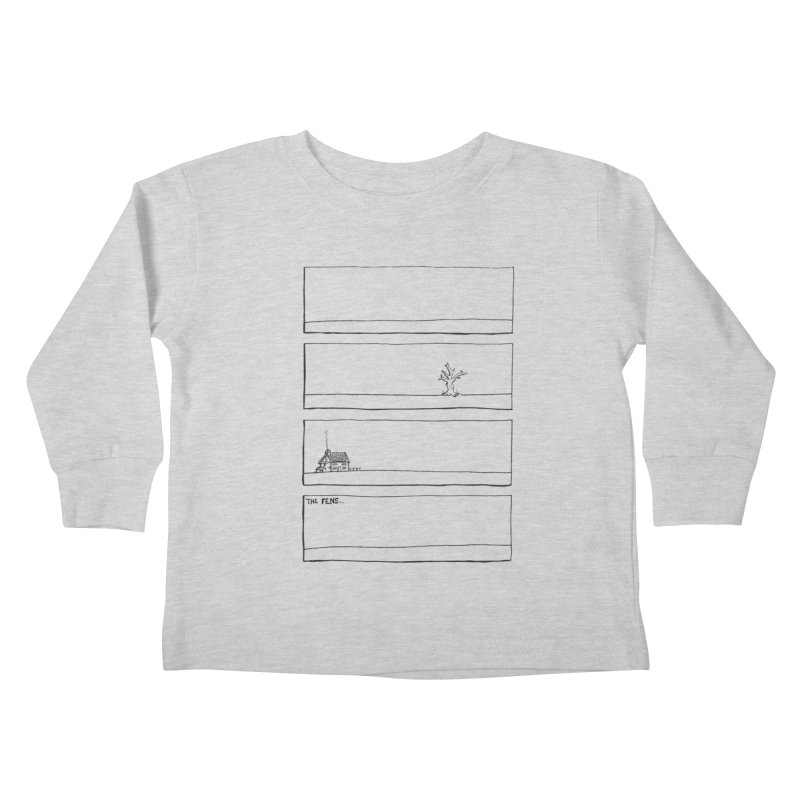 Eelman Chronicles - The Fens Kids Toddler Longsleeve T-Shirt by EelmanChronicles's Artist Shop